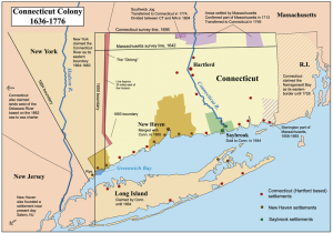 connecticut 300x210 New England Colonies