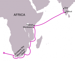 Vasco da Gama Map