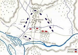 trentonmap 300x211 Battle of Trenton