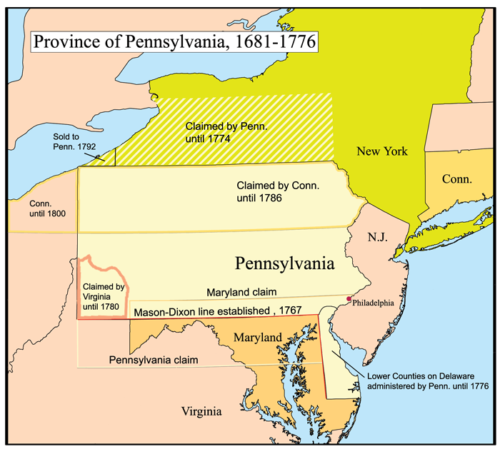 Pennsylvania Colony Facts and Timeline - The History Junkie
